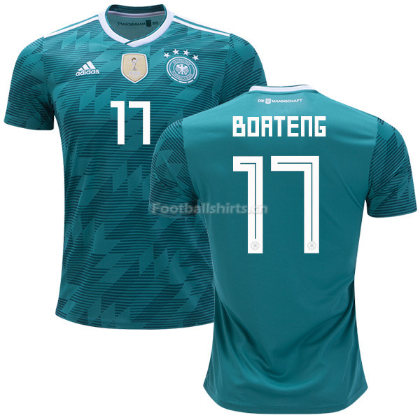Germany 2018 World Cup JEROME BOATENG 17 Away Soccer Jersey