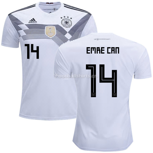 Germany 2018 World Cup EMRE CAN 14 Home Soccer Jersey