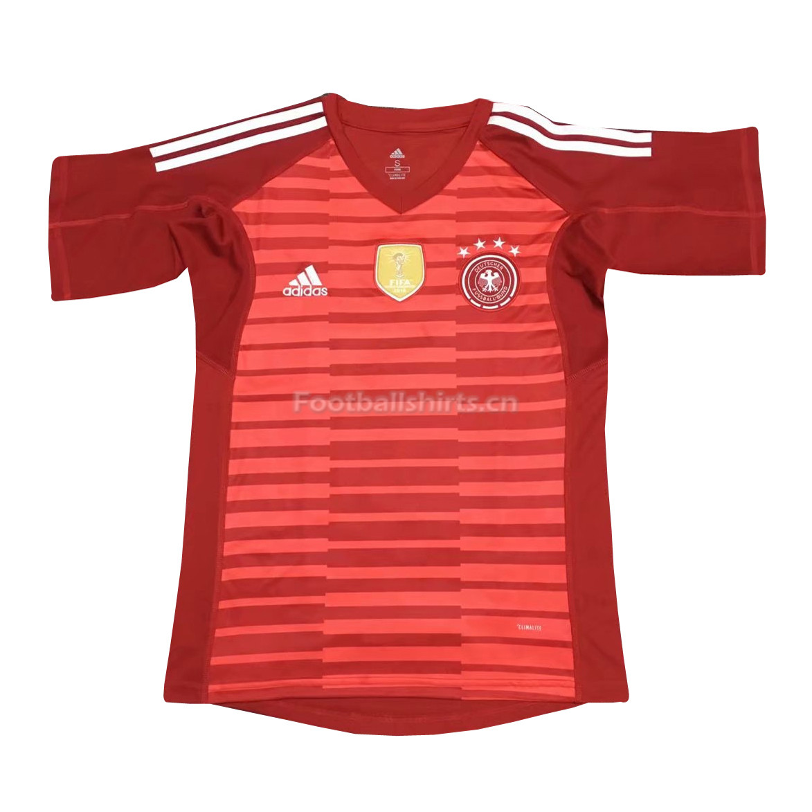 Germany 2018 FIFA World Cup Goalkeeper Red Soccer Jersey