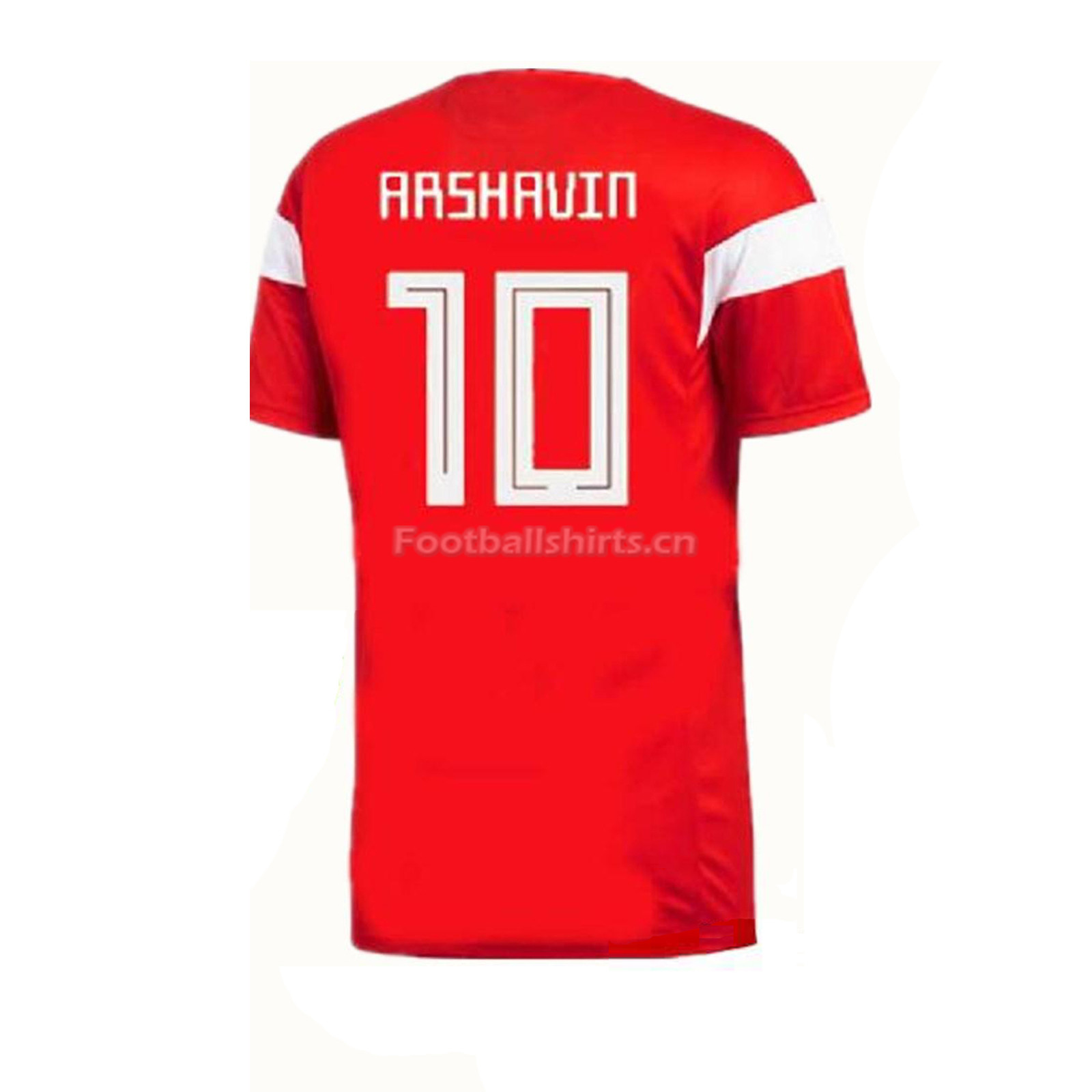 Russia 2018 World Cup Home Arshavin Soccer Jersey