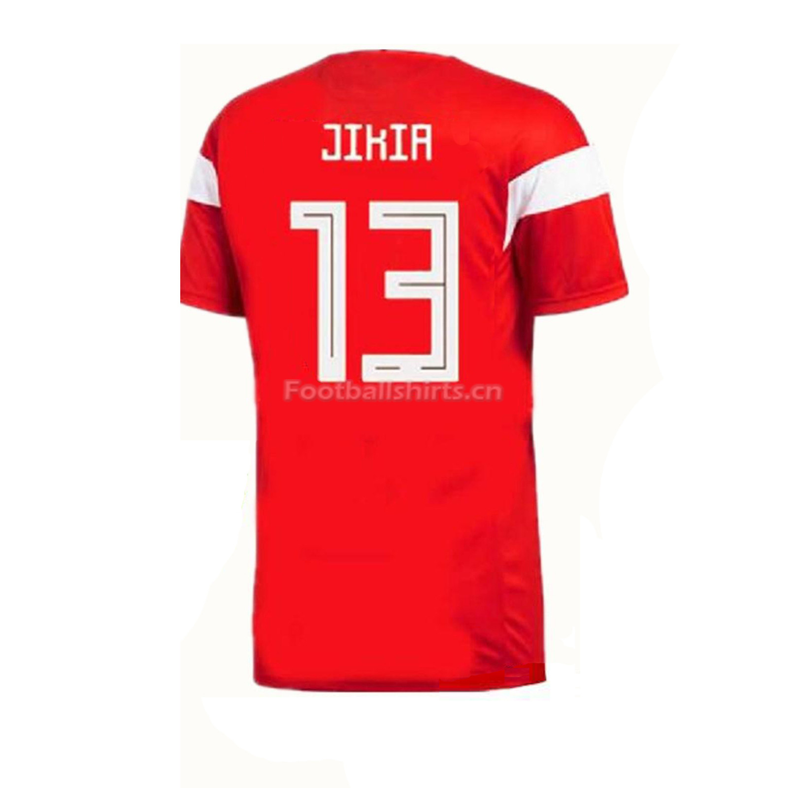 Russia 2018 World Cup Home Jikia Soccer Jersey