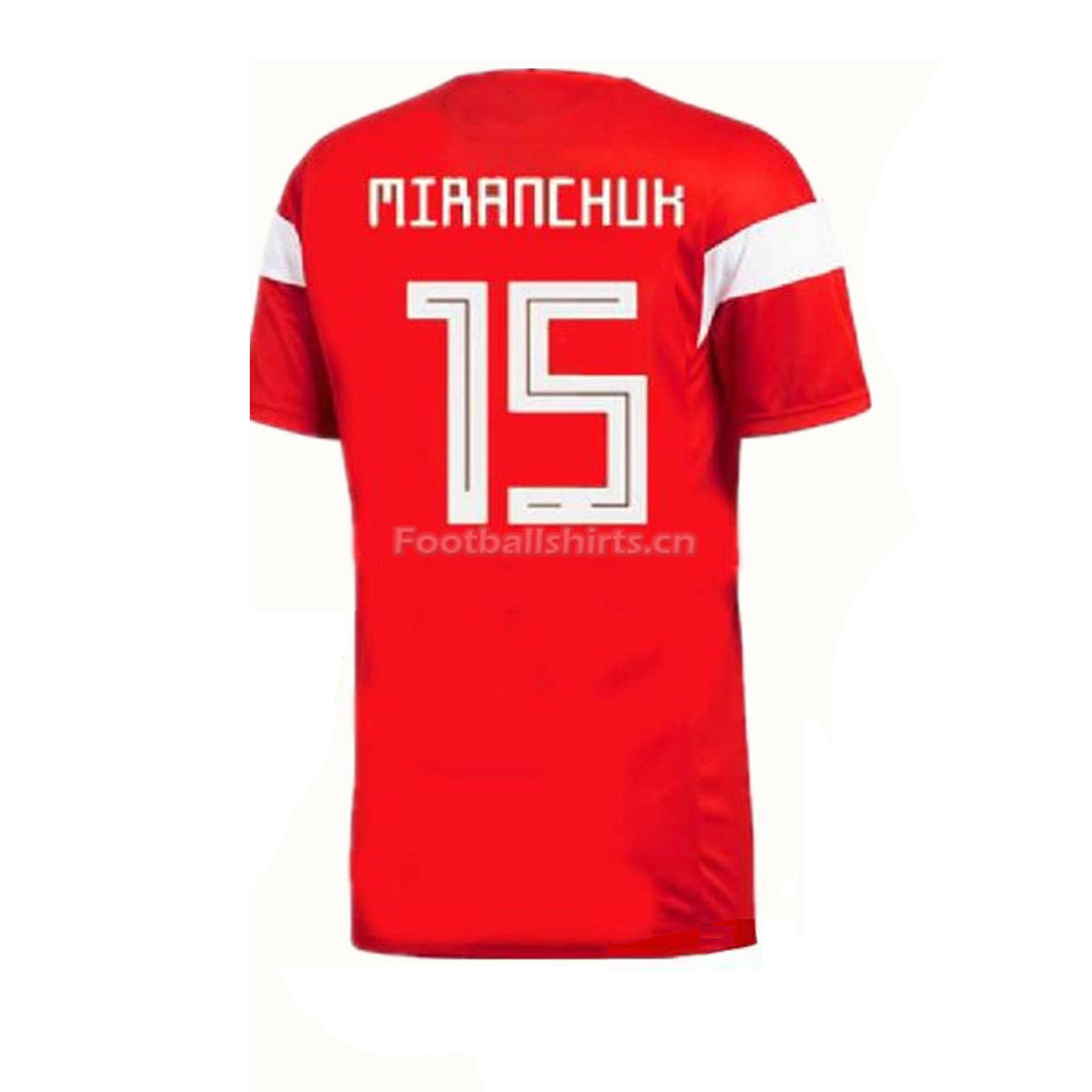 Russia 2018 World Cup Home Miranchuk Soccer Jersey