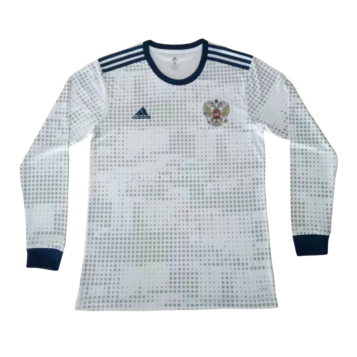 Russia 2018 World Cup Away Long Sleeve Soccer Jersey