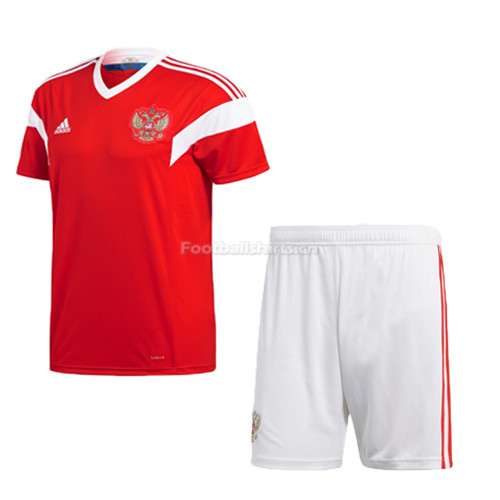 Russia 2018 World Cup Home Soccer Uniform (Jersey + Shorts)