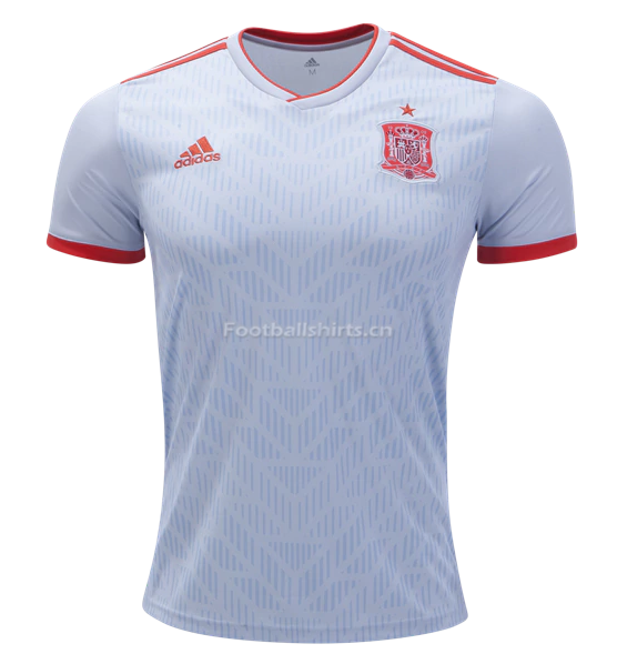 Spain 2018 World Cup Away Soccer Jersey