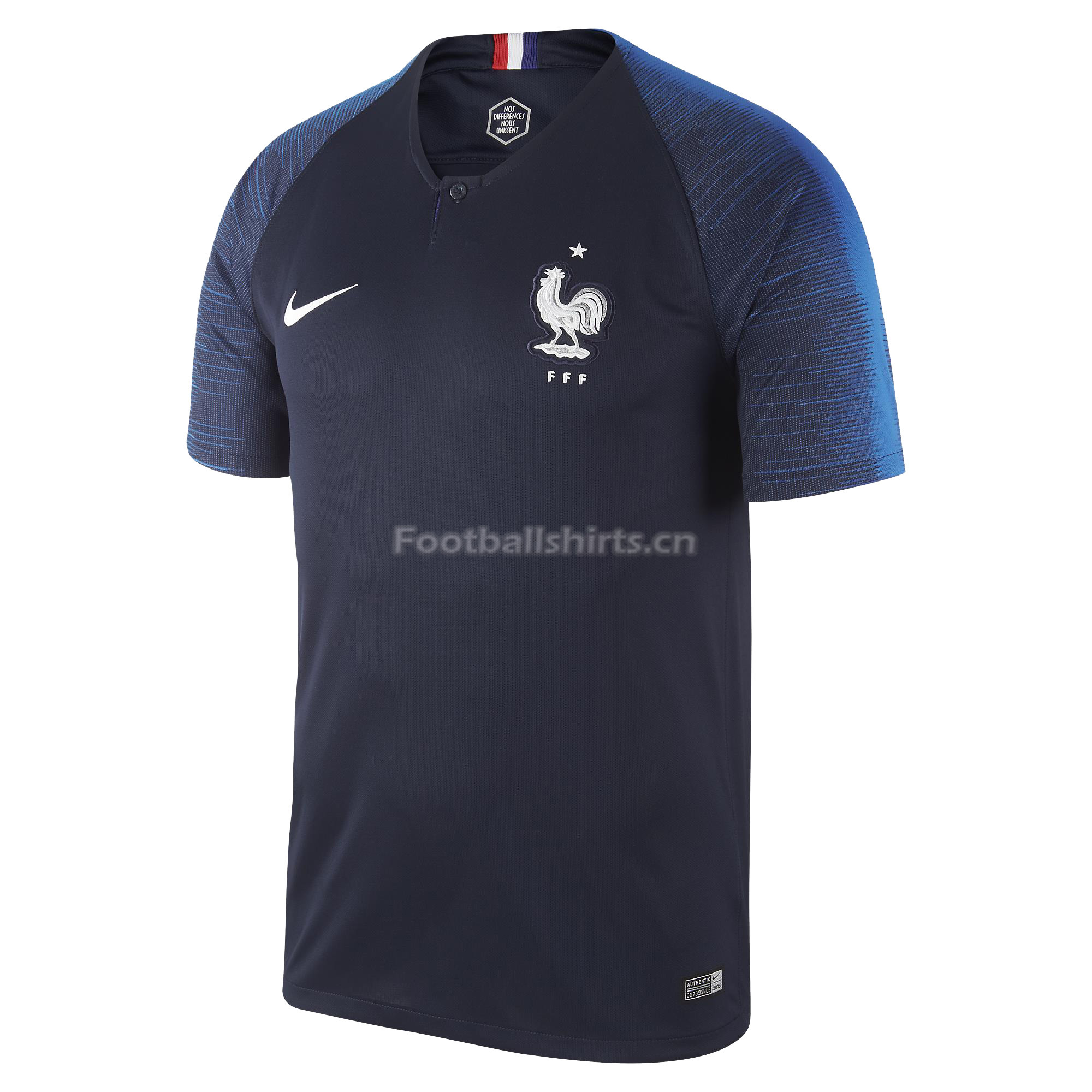 France 2018 World Cup Home Soccer Jersey