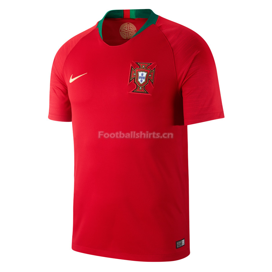 Portugal 2018 World Cup Home Red Soccer Jersey