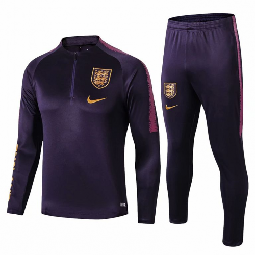England Training Top Suits Purple 2019/20