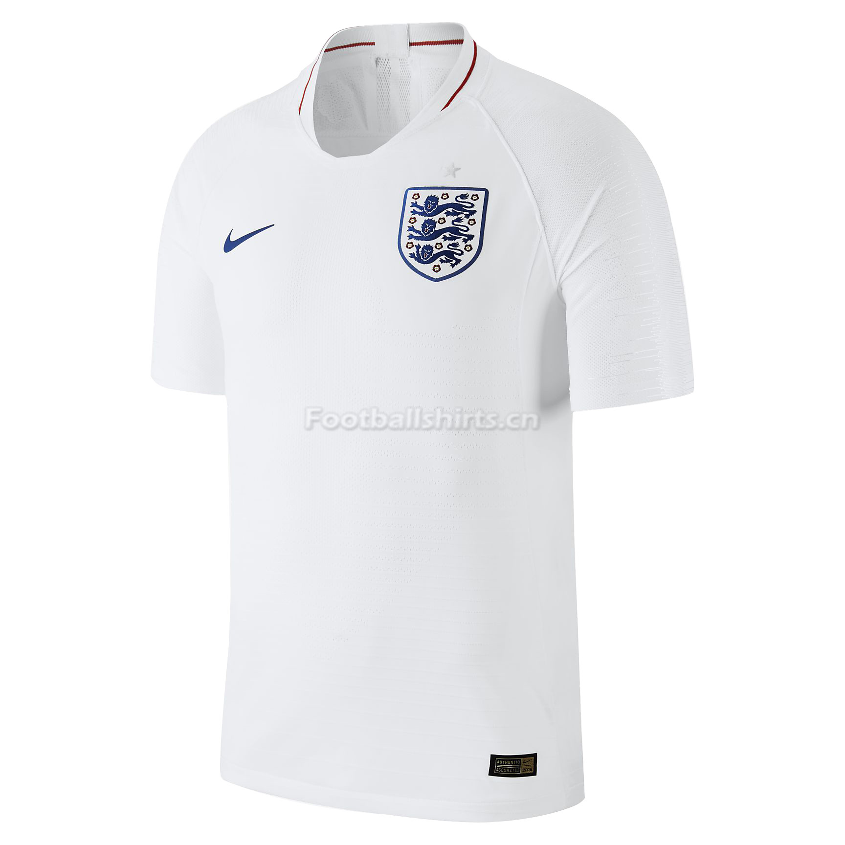 England 2018 World Cup Home Soccer Jersey