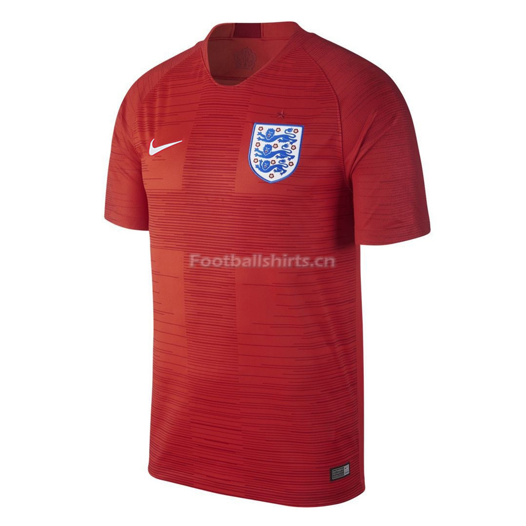 England 2018 FIFA World Cup Away Soccer Jersey
