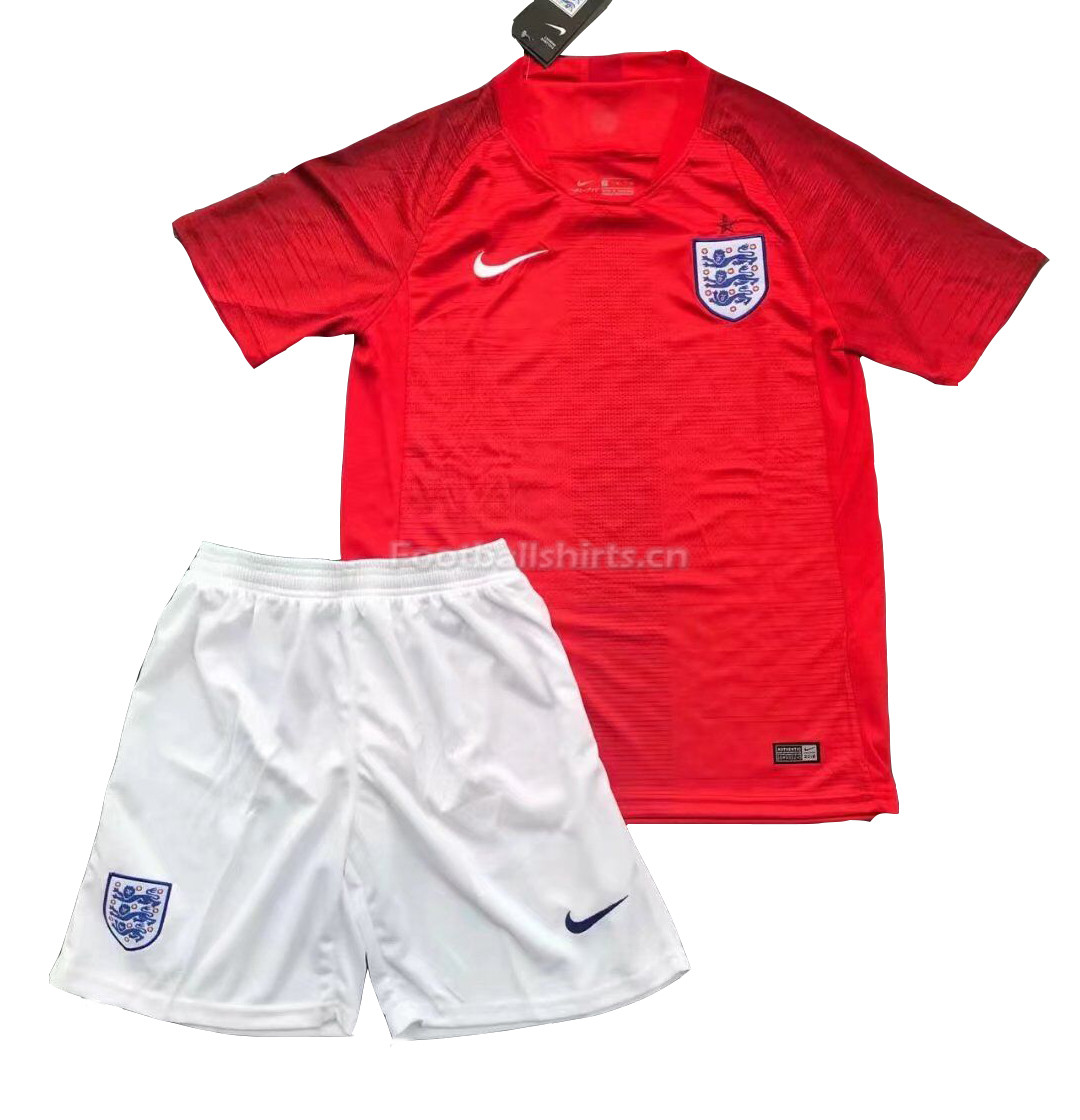 England 2018 FIFA World Cup Away Soccer Jersey Uniform (Shirt+Sh
