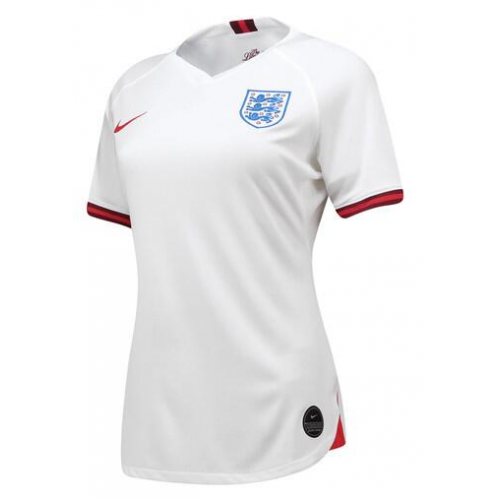 England Home Soccer Jersey Women 2019 World Cup