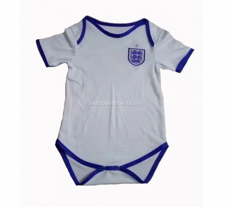 England 2018 World Cup Home Infant Soccer Jersey Baby Suit