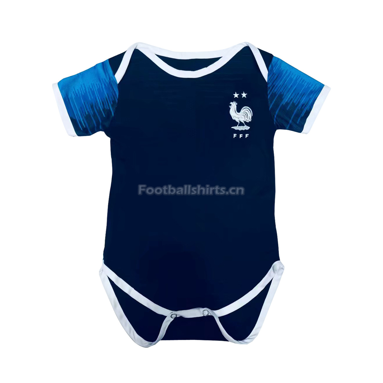France 2018 World Cup Home 2-Star Infant Soccer Jersey