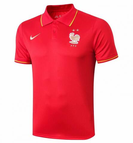 France Polo Shirt Red 2019