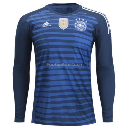Germany 2018 World Cup Home LS Goalkeeper Soccer Jersey