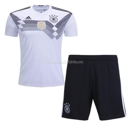 Germany 2018 World Cup Home Soccer Kits With Shorts