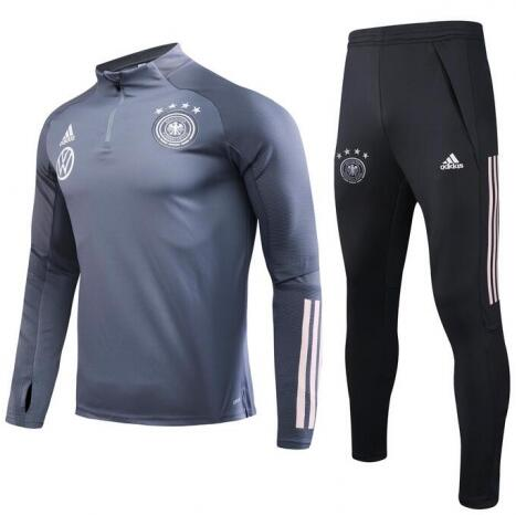 Germany Training Top Suits Grey 2020