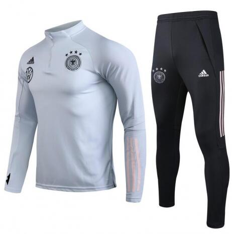 Germany Training Top Suits Light Grey 2020
