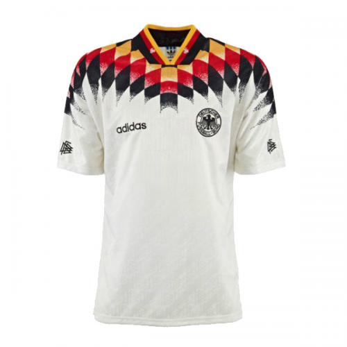 Retro West Germany Home Soccer Jersey 1994