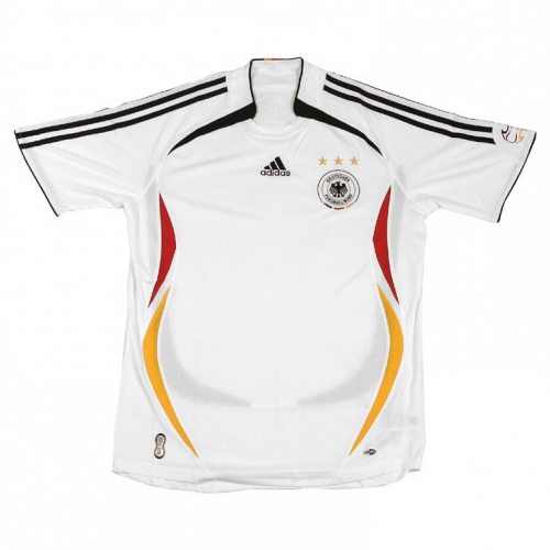 Retro Germany Home Soccer Jersey 2006