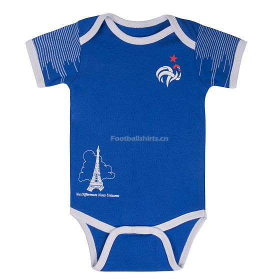 France 2018 World Cup Home Infant Shirt Soccer Baby Suit Rompers
