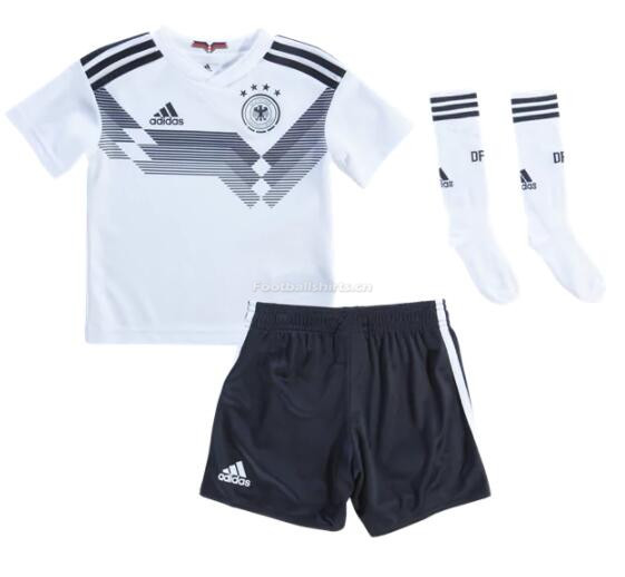 Kids Germany 2018 World Cup Home Whole Soccer Kits