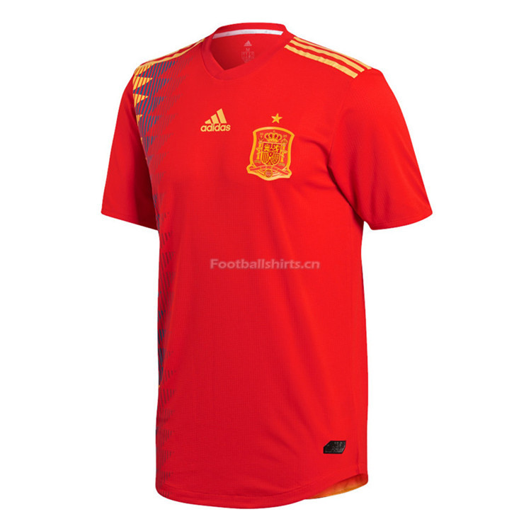Match Version Spain 2018 World Cup Home Soccer Jersey