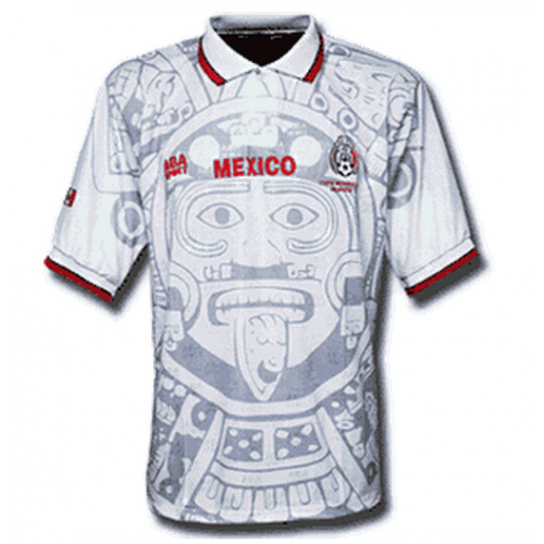 Retro Mexico Away Soccer Jersey 1998