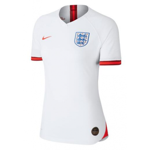 England Home Soccer Jersey Player Version Women 2019 World Cup