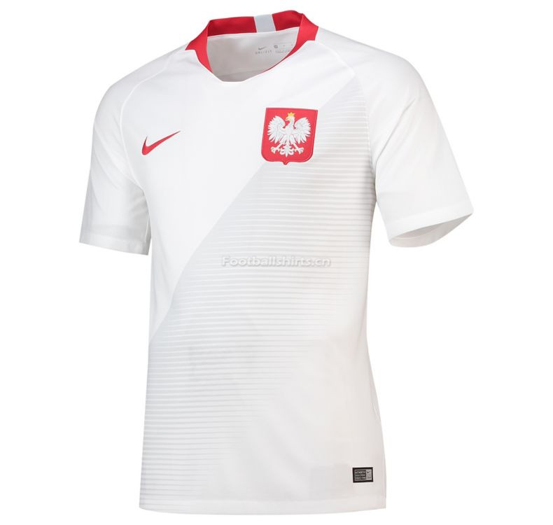 Poland 2018 World Cup Home Soccer Jersey White