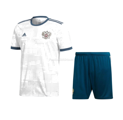Russia 2018 World Cup Away Soccer Uniform (Jersey + Shorts)