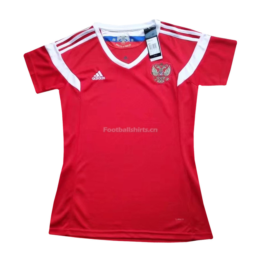 Russia 2018 World Cup Home Women's Soccer Jersey