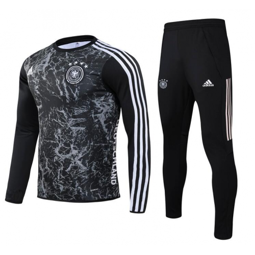 Germany Training Top Suits Black 2020