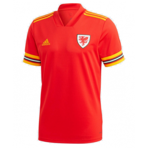 Wales Home Soccer Jersey Player Version 2020 EURO