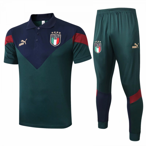 Italy Polo Suits Green 2020