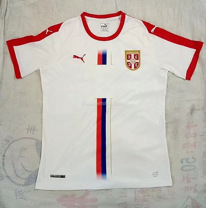 Serbia 2018 World Cup Away Soccer Jersey White