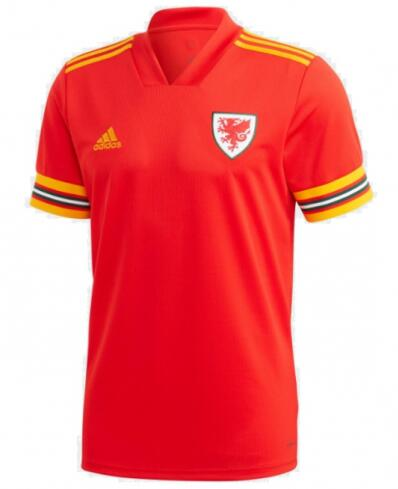 Wales Home Soccer Jersey 2020 EURO