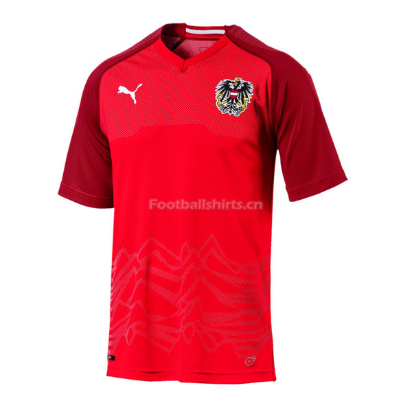 Austria 2018 World Cup Home Soccer Jersey
