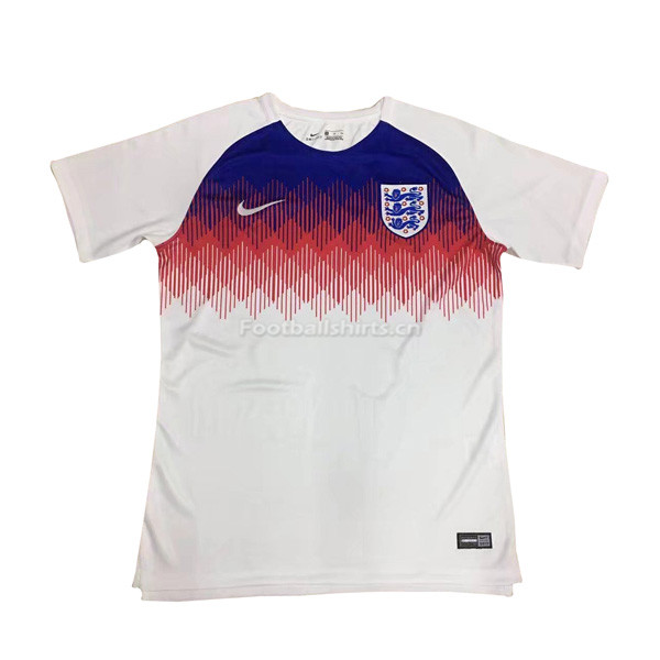 England 2018 World Cup Pre-Match White Soccer Jersey