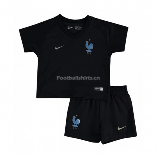 Kids France Third Soccer Kit Shirt + Shorts 2017/18