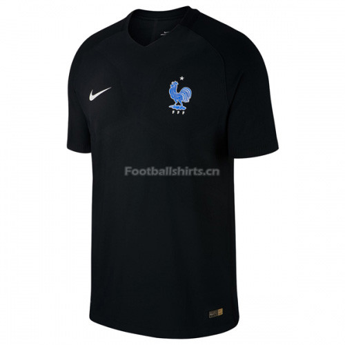 France Third Soccer Jersey 2017/18