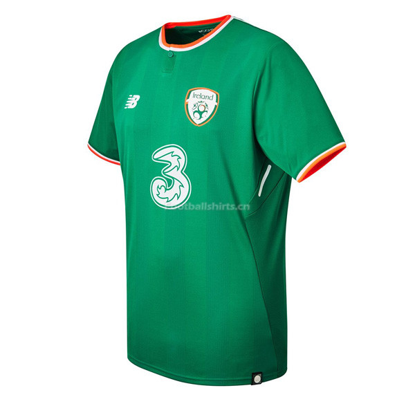 Ireland 2018 World Cup Home Soccer Jersey Green