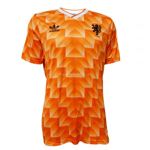 Netherlands 1988 Home Retro Soccer Jersey