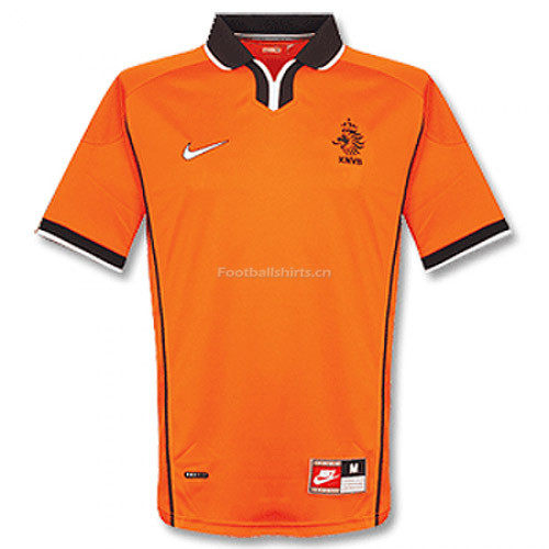 Netherlands 1998/1999 Home Retro Soccer Jersey