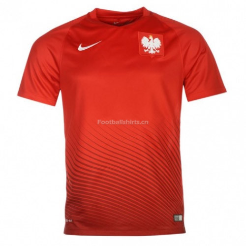 Poland 2016/17 Away Soccer Jersey