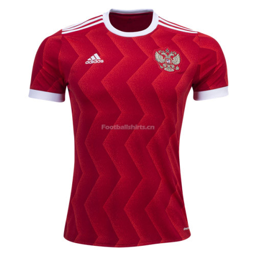 Russia Home Soccer Jersey 2017/18