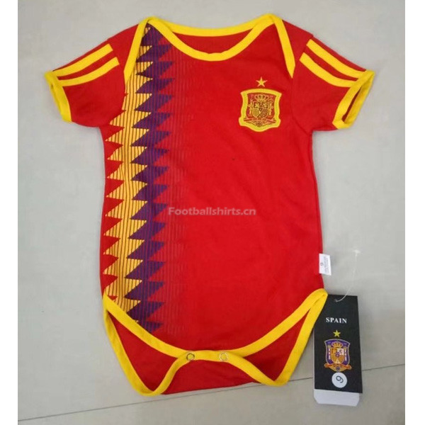 Spain 2018 World Cup Home Infant Soccer Jersey