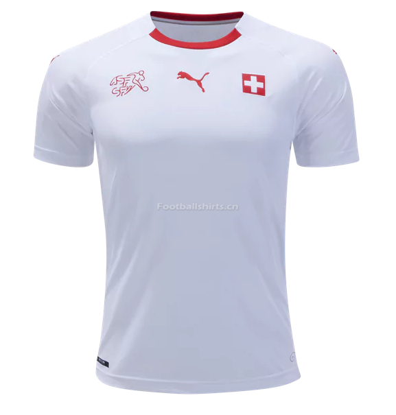 Switzerland 2018 World Cup Away Soccer Jersey
