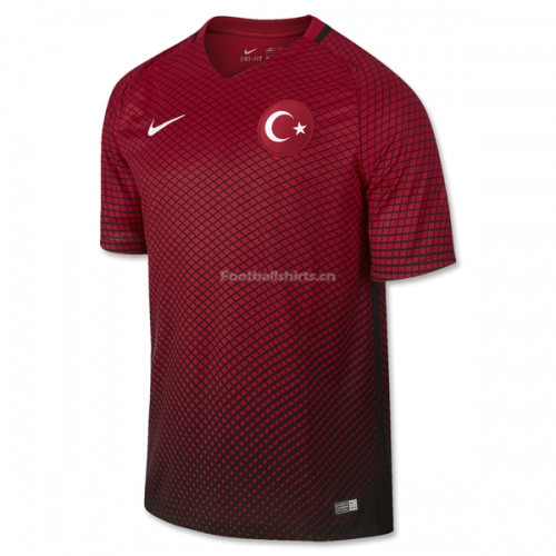 Turkey 2016/17 Home Soccer Jersey